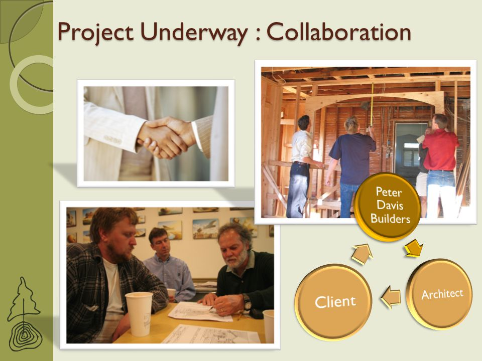 Project Underway : Collaboration