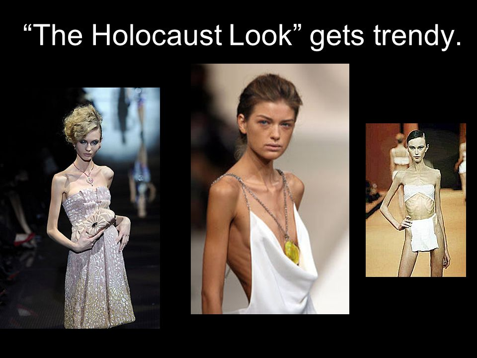 The Holocaust Look gets trendy.
