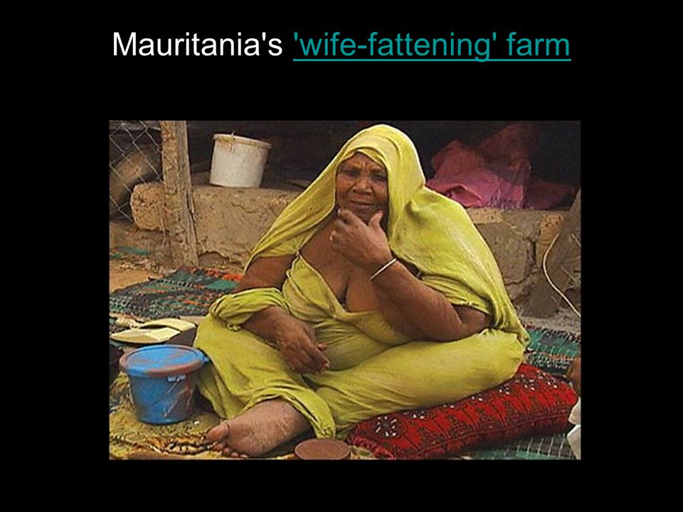 Mauritania s wife-fattening farm wife-fattening farm