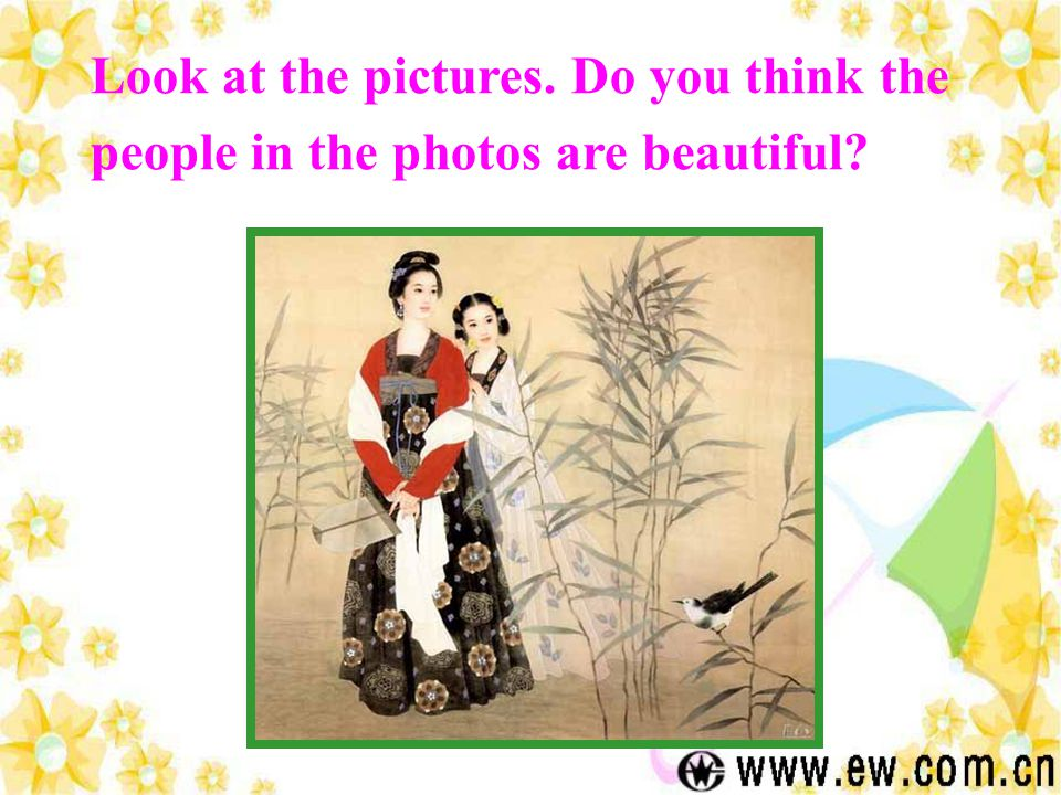 Physical Beauty How many factors influence peoples perceptions of beauty.