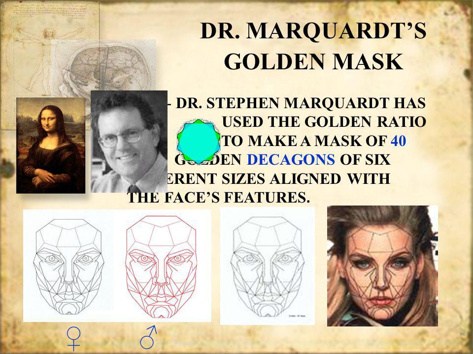 DR. MARQUARDTS GOLDEN MASK DR. MARQUARDTS GOLDEN MASK - DR.