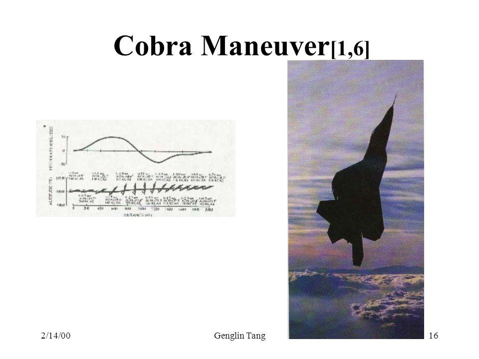 2/14/00Genglin Tang16 Cobra Maneuver [1,6]