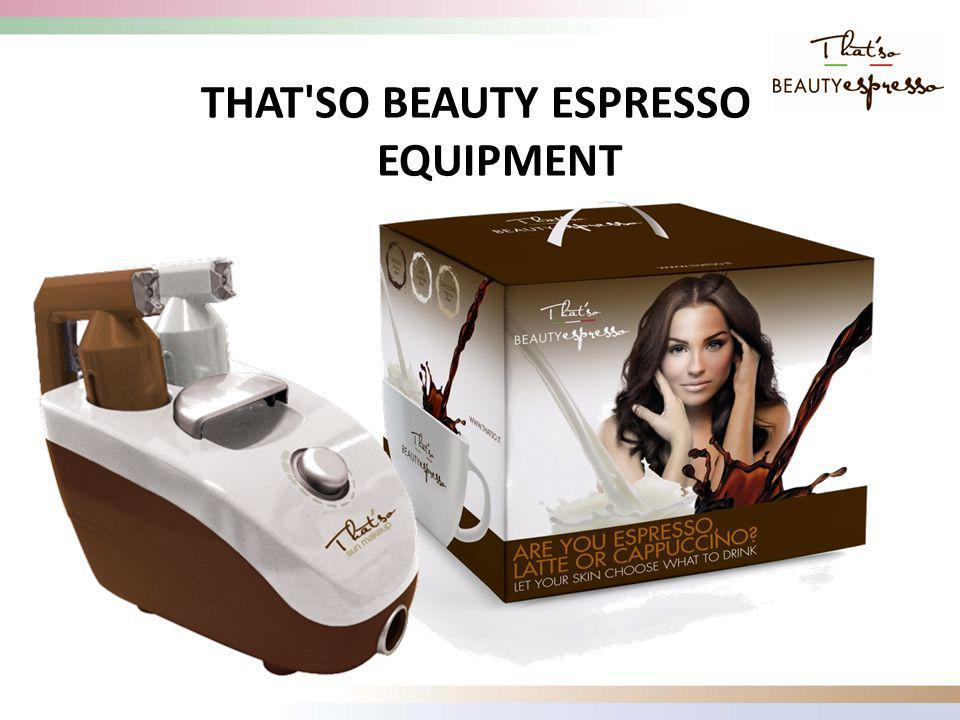 THAT SO BEAUTY ESPRESSO EQUIPMENT