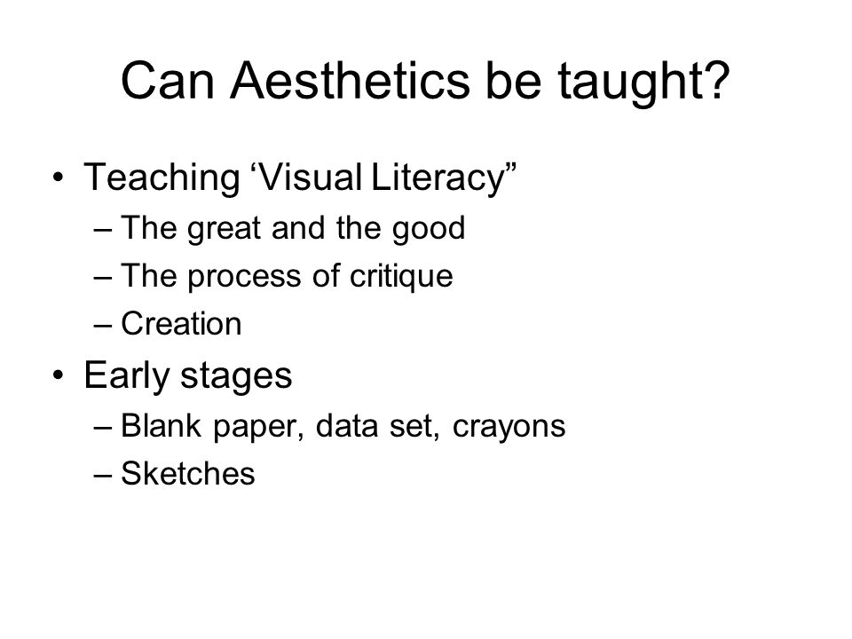 What is Truth? What is Beauty? What is Art? What is Aesthetics? Do we need them?