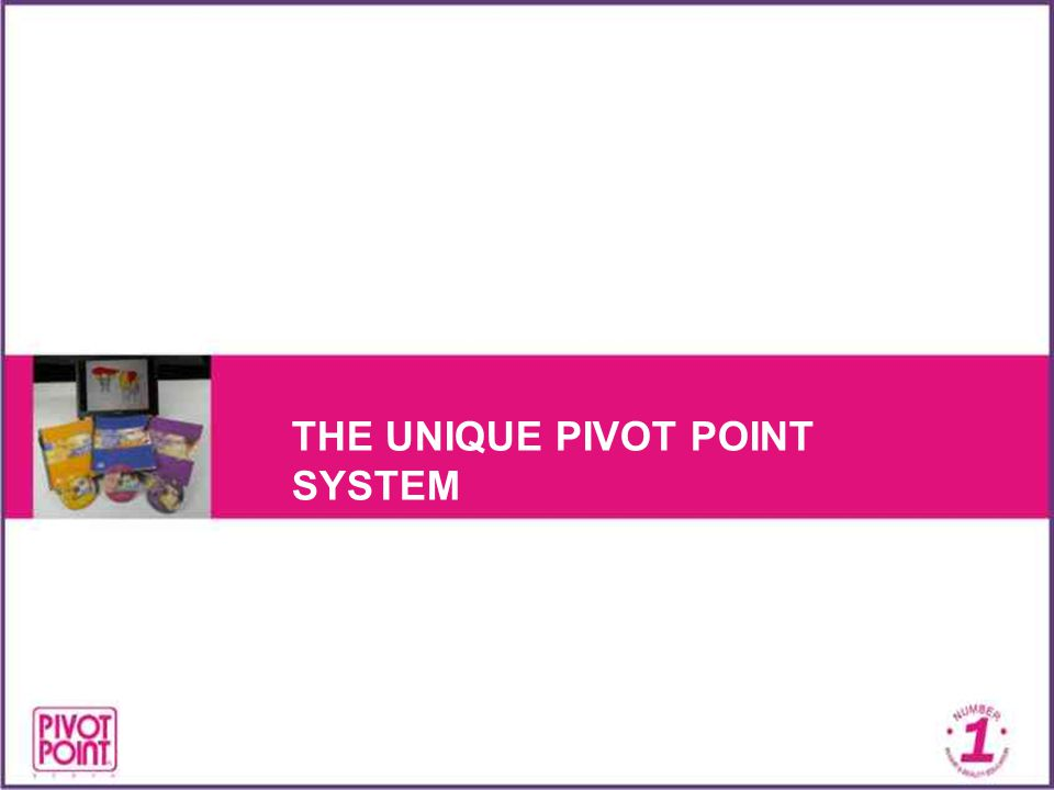 The Unique Pivot Point System An entire training system called the Scientific Approach Developed in 1962 by the Fine Art Department of the University of Chicago and Pivot Point founder & president, Leo Passage