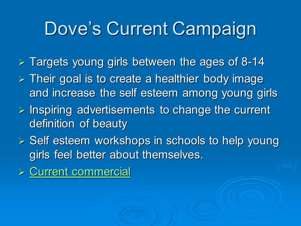 Media Selection Advertising through billboards, the Dove Club, magazines, etc.