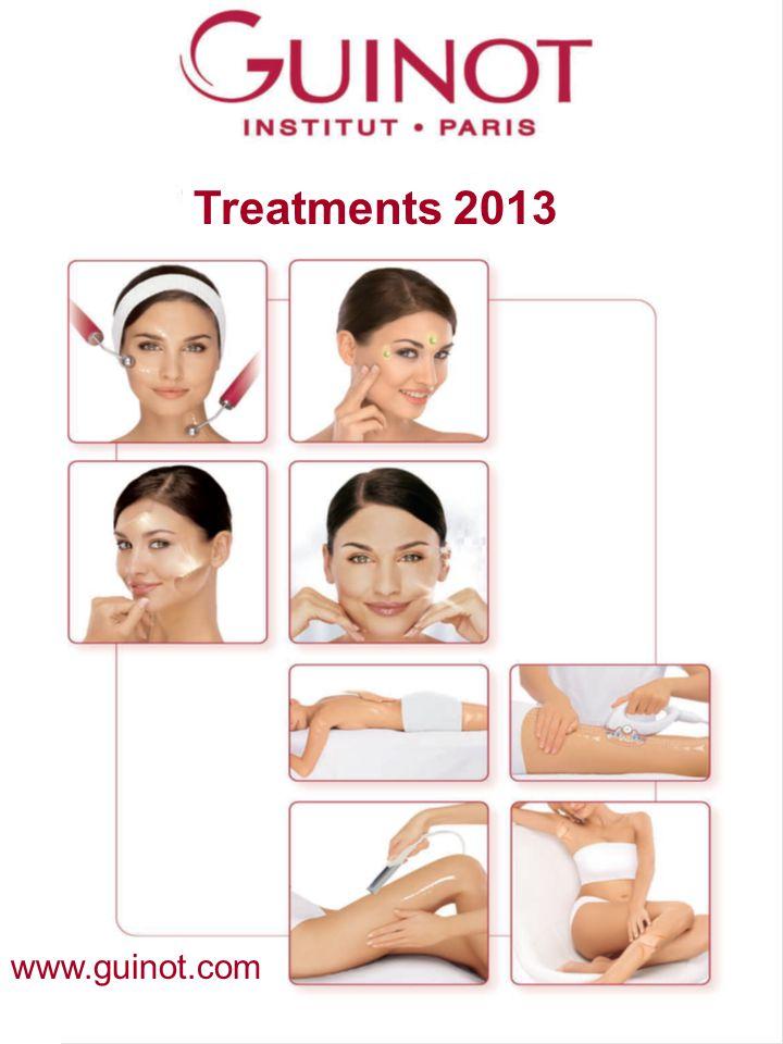 Kezelések 2011 Treatments 2013 www.guinot.com