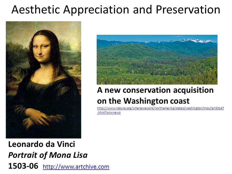 Nature of Aesthetic Appreciation of Nature formalistic/ picturesque formalistic/ picturesque scientific/cognitivist relativistic/ postmodern