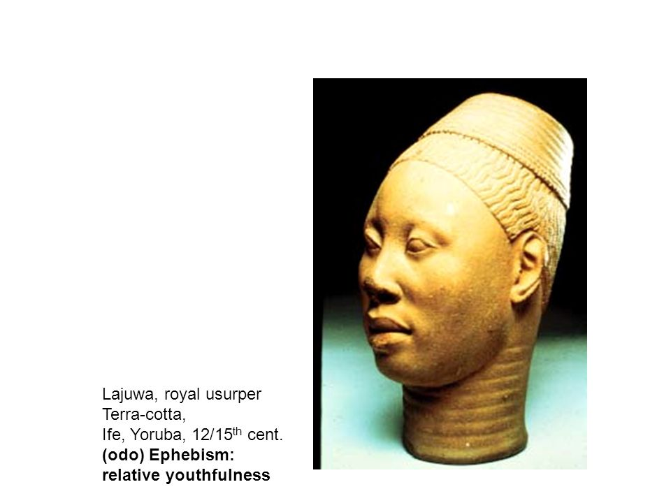 Lajuwa, royal usurper Terra-cotta, Ife, Yoruba, 12/15 th cent.