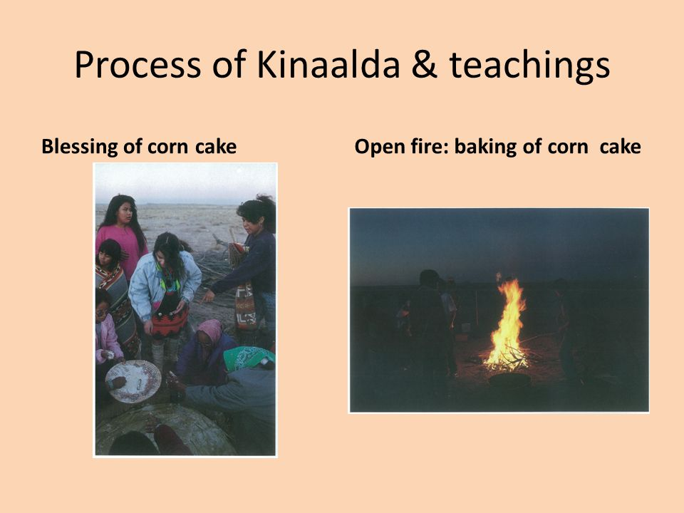 Process of Kinaalda & Teachings SharingBlessing others