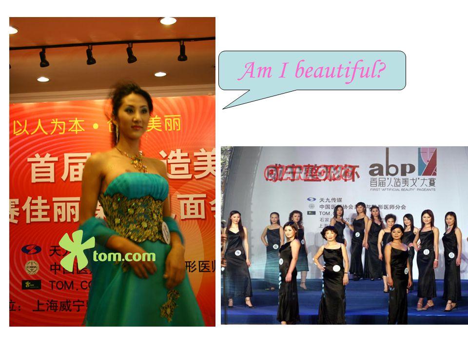 Am I beautiful