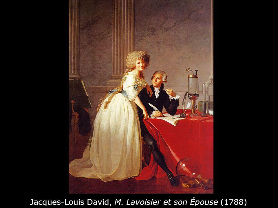 Jacques-Louis David, M. Lavoisier et son Épouse (1788)