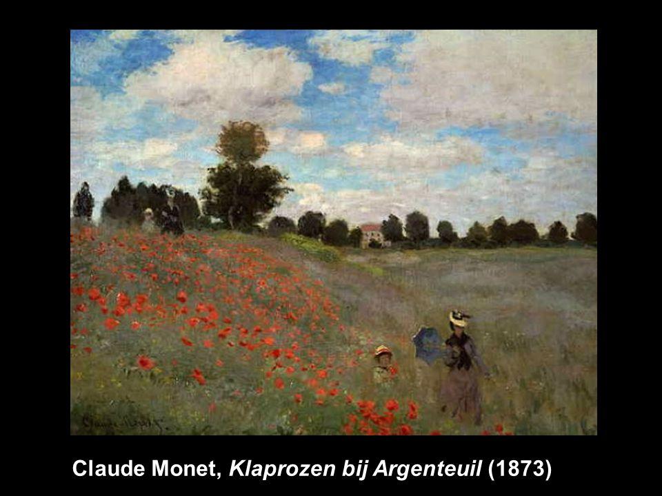 Claude Monet, Klaprozen bij Argenteuil (1873)