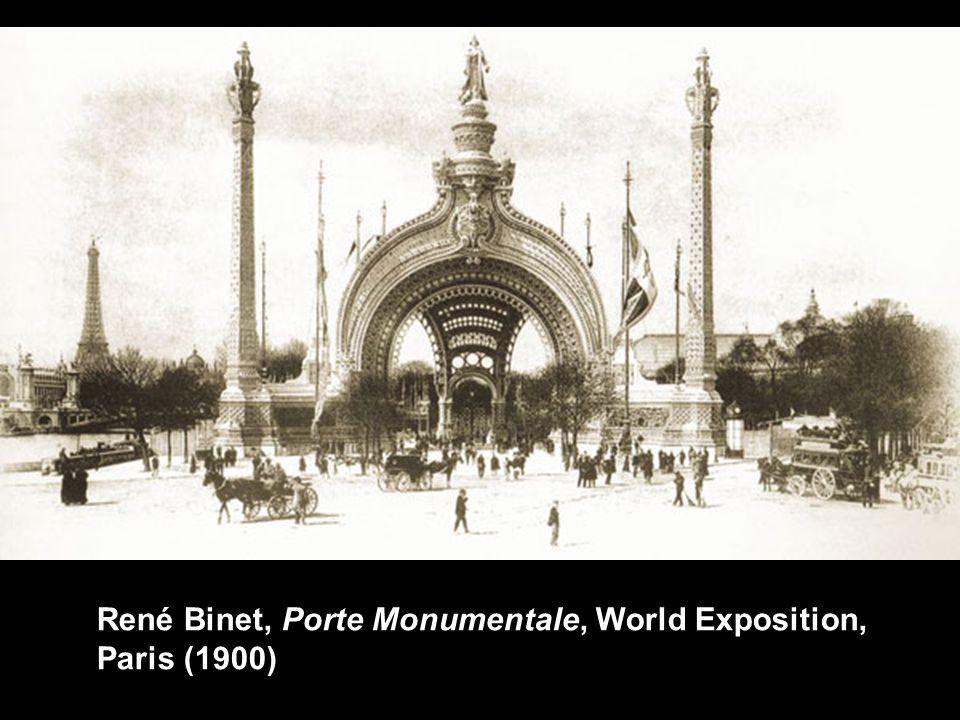 René Binet, Porte Monumentale, World Exposition, Paris (1900)