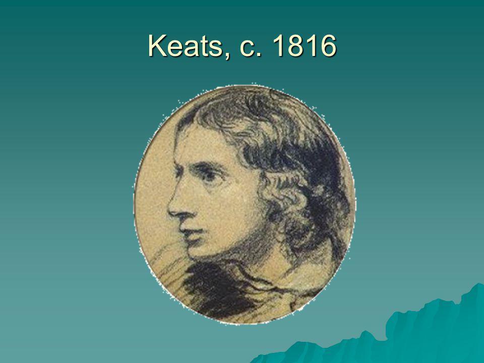 Keats, c. 1816