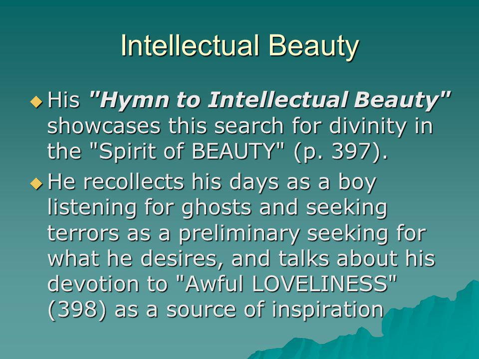 Intellectual Beauty His