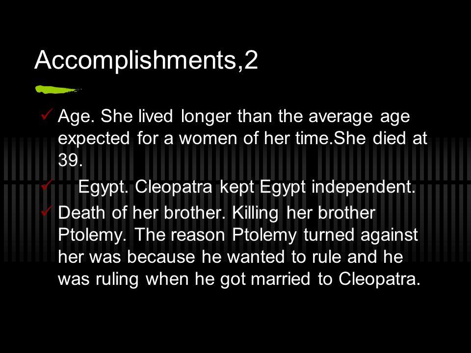Accomplishments,2 Age.