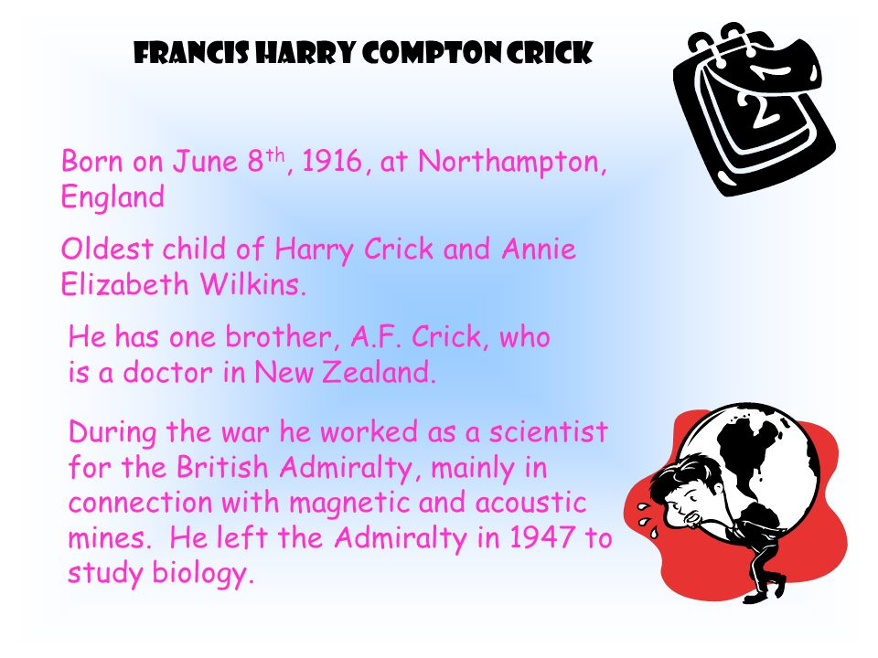 Watson and Crick with DNA model