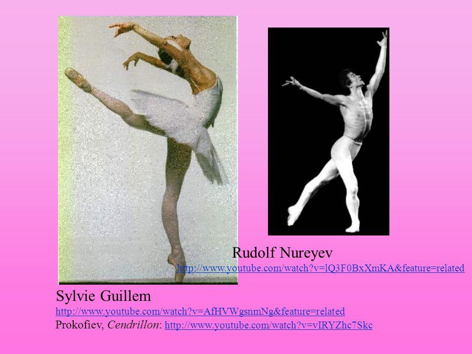 Sylvie Guillem http://www.youtube.com/watch?v=AfHVWgsnmNg&feature=related http://www.youtube.com/watch?v=AfHVWgsnmNg&feature=related Prokofiev, Cendri