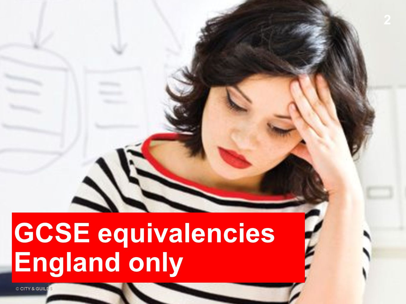 11.02.11 © CITY & GUILDS 2 GCSE equivalencies England only
