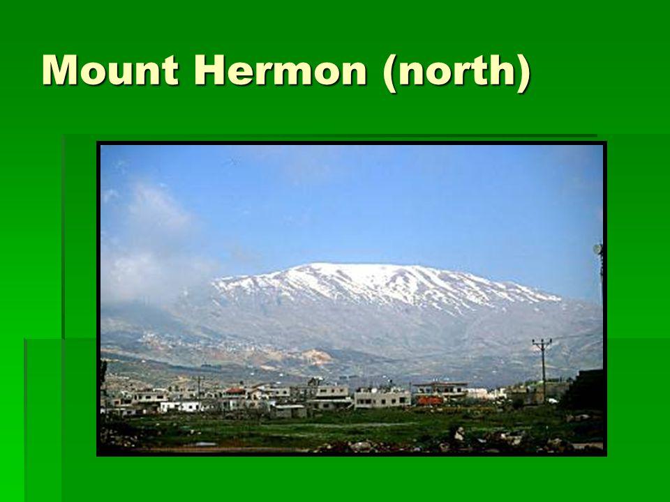 Mount Hermon (north)