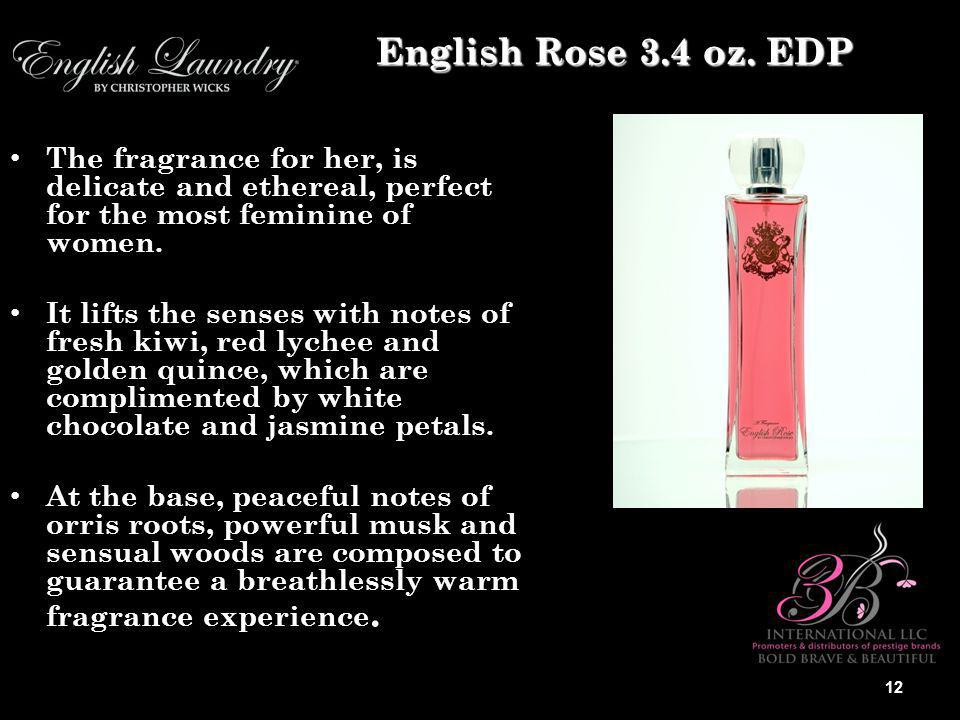 The fragrance for her, is delicate and ethereal, perfect for the most feminine of women.