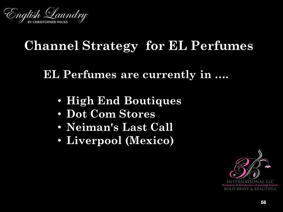 EL Perfumes are currently in ….