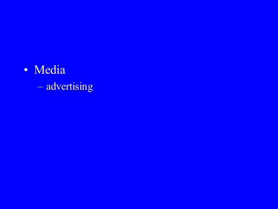 Media –advertising