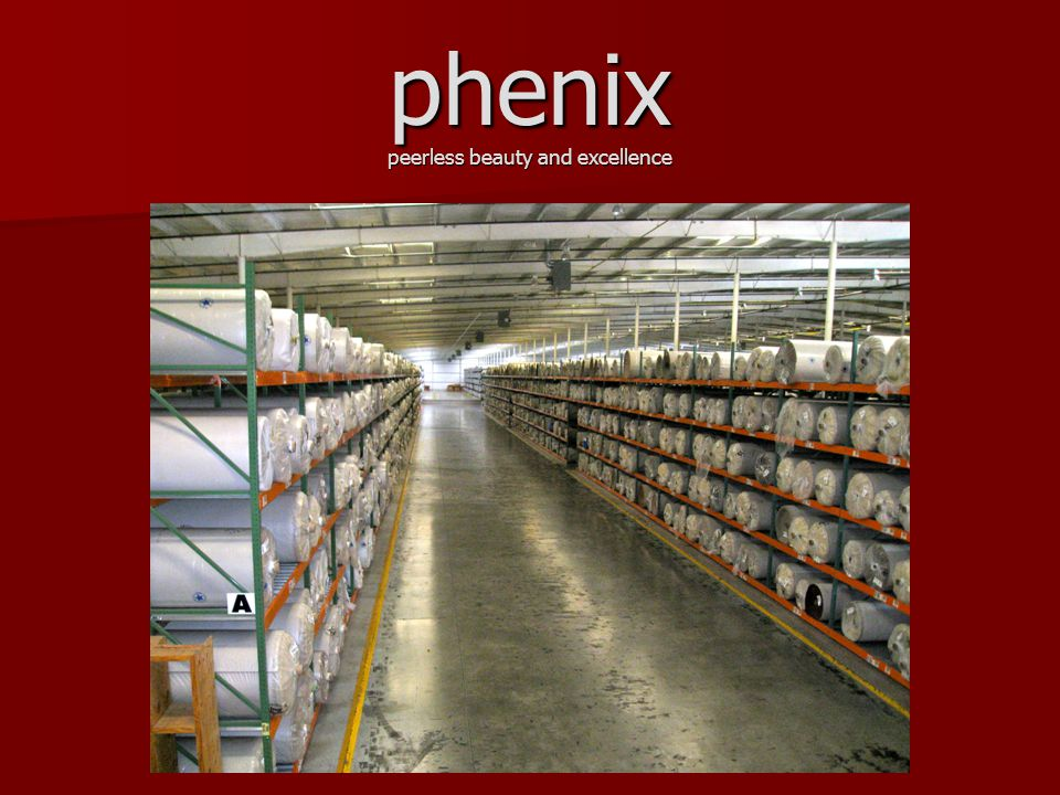 phenix peerless beauty and excellence