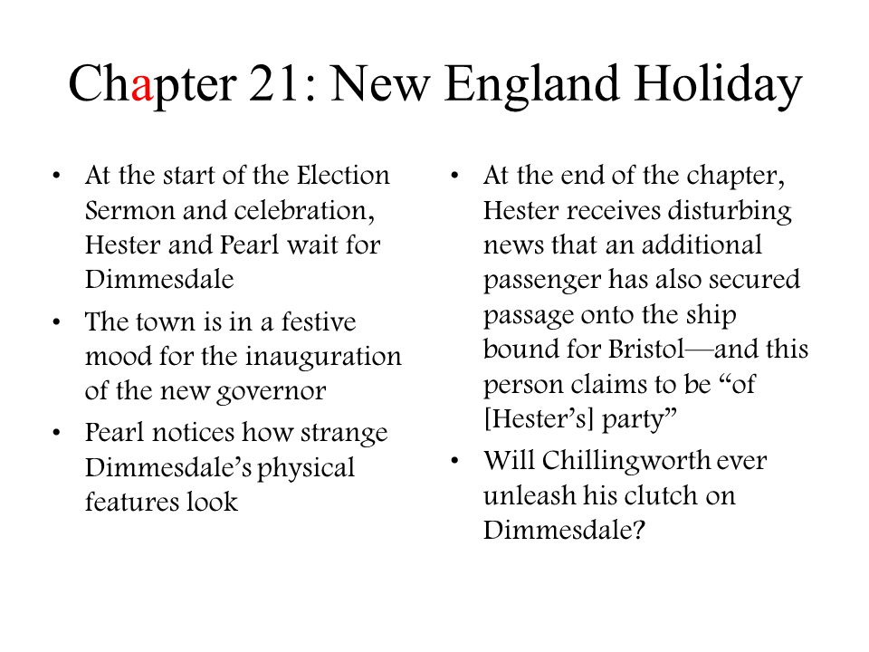 Scarlet Letter Chapter 11 & 12 By: Zach Hartzer And Jake