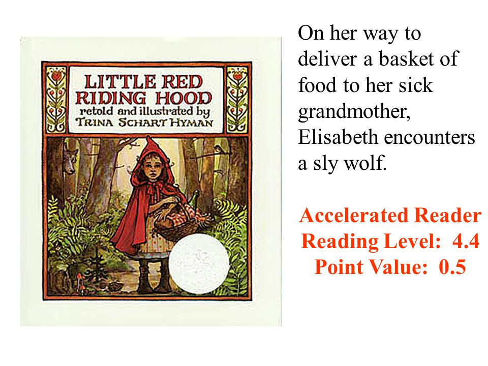 On her way to deliver a basket of food to her sick grandmother, Elisabeth encounters a sly wolf.