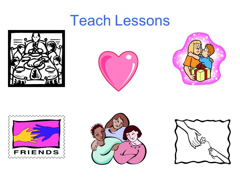 Teach Lessons