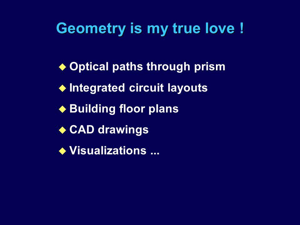 My Agenda within BID u Teaching Applicable Design Skills u Developing Better CAD Tools & Methods.