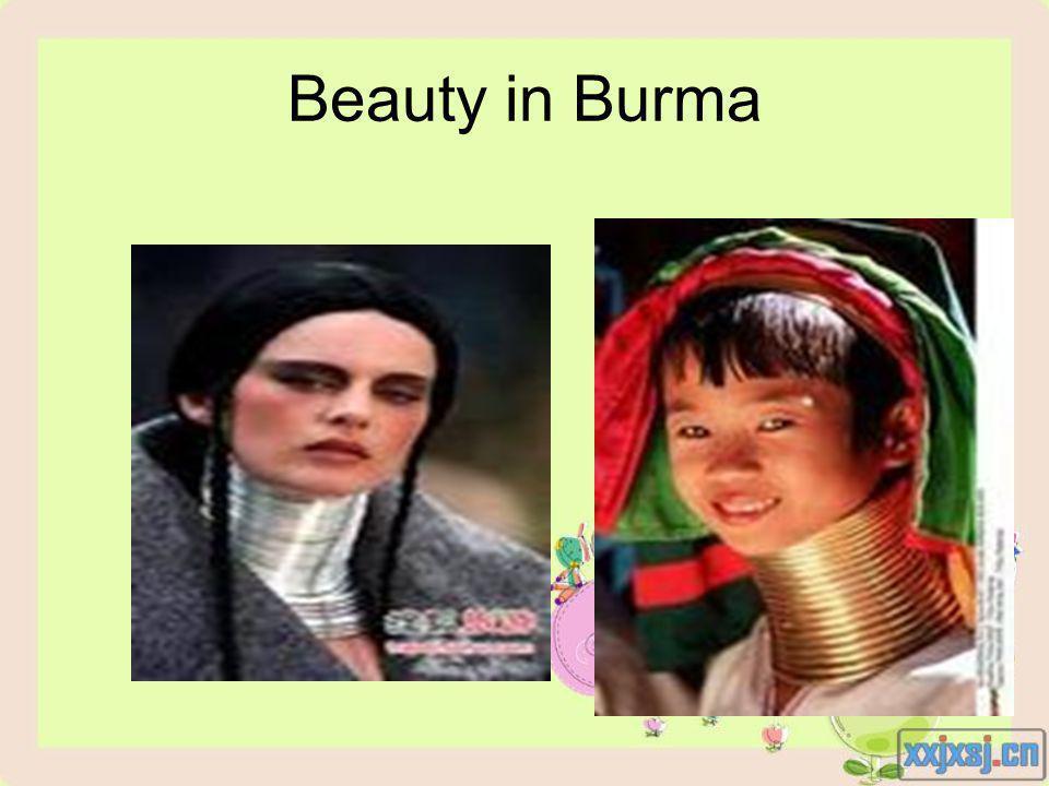 Beauty in Burma