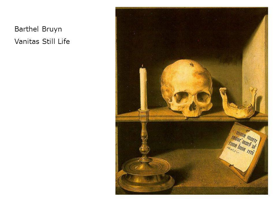Barthel Bruyn Vanitas Still Life