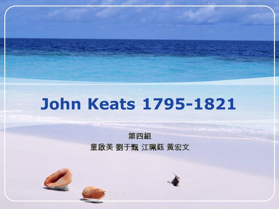 LOGO John Keats 1795-1821