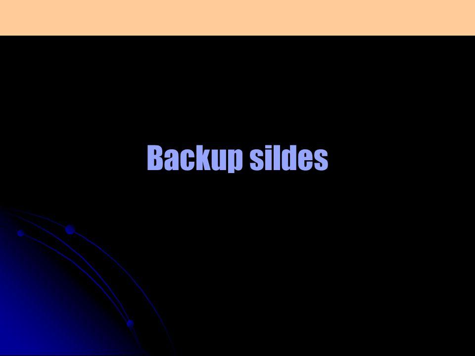 Backup sildes