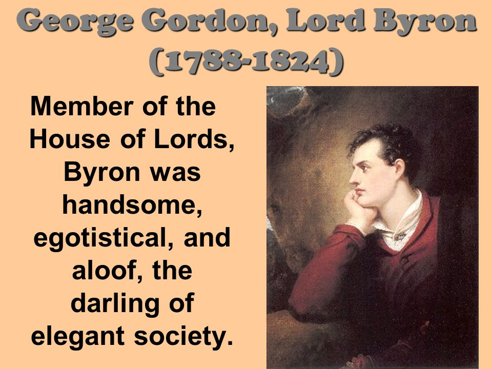 Shocked by his radical politics and scandalous love affairs, Byron was shunned by London society and, so he left Britain in 1816, never to return.