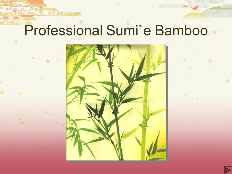 Professional Sumi`e Bamboo