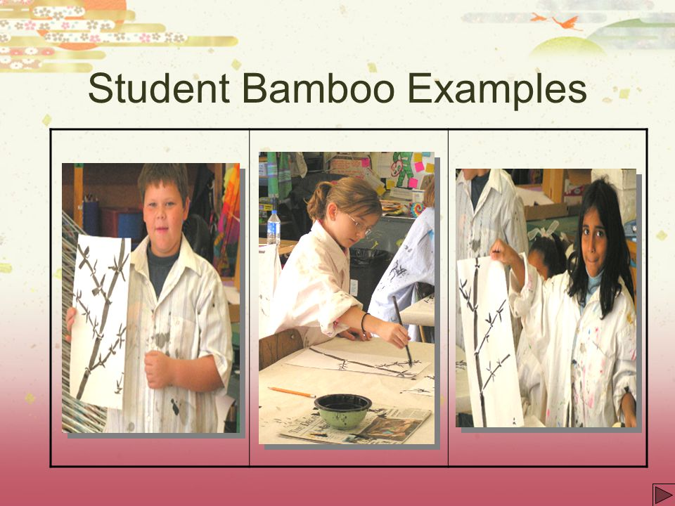 Student Bamboo Examples