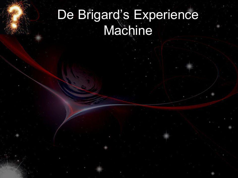 De Brigards Experience Machine