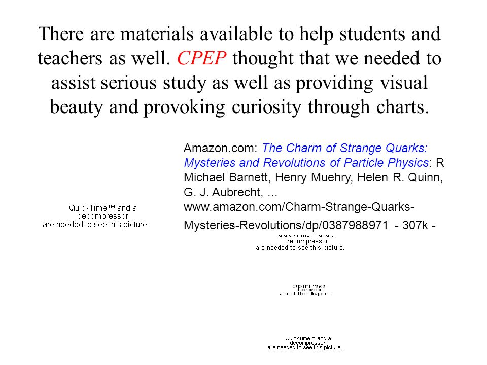 There are materials available to help students and teachers as well.