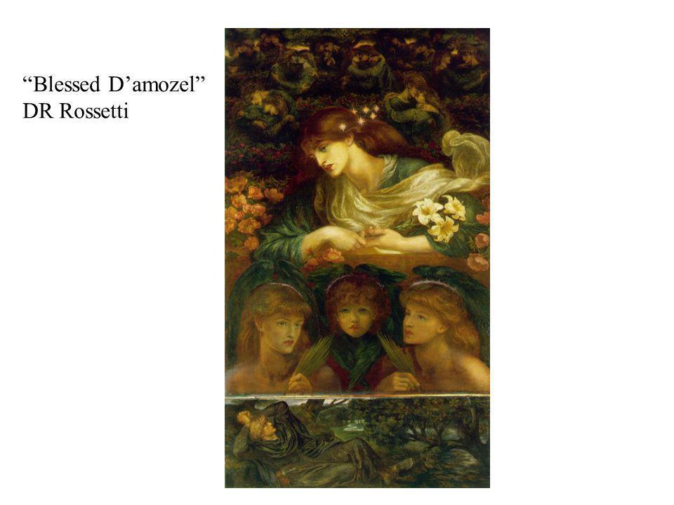 Blessed Damozel DR Rossetti