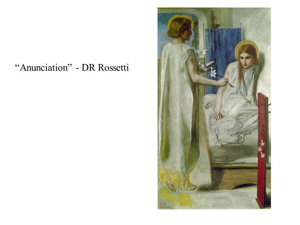 Anunciation - DR Rossetti