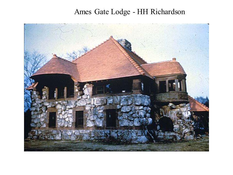 Ames Gate Lodge - HH Richardson