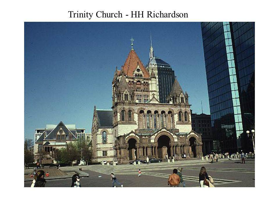 Trinity Church - HH Richardson