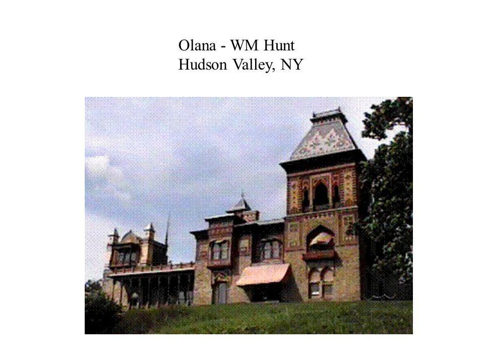 Olana - WM Hunt Hudson Valley, NY