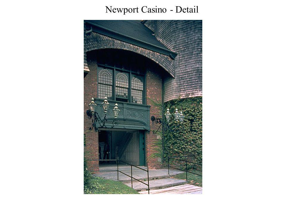 Newport Casino - Detail