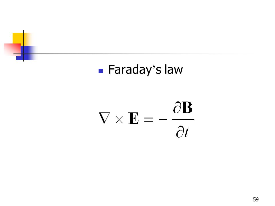59 Faraday s law