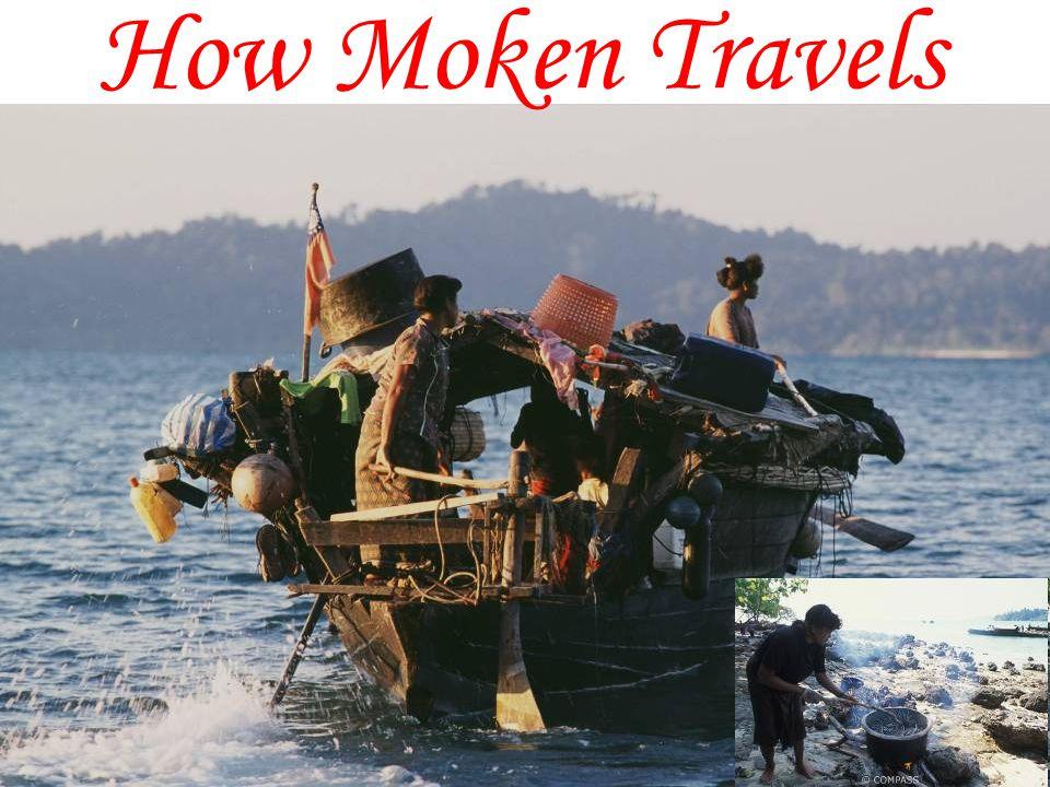 How Moken Travels